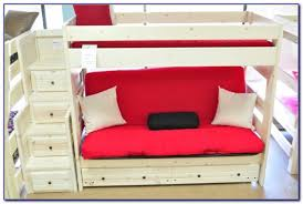 Bunk Bed With Mattresses Included Twin Over Futon Bunk Bed With Mattress Included Futons Home Ideas