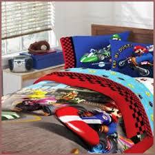 Mario Bros Bed Set Mario Bros Themed Bedroom Sheets Pillowcases And Drapes