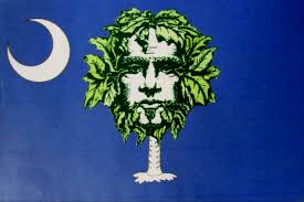 South Carolina Flags Green Man Expands Distribution To Include All Of South Carolina