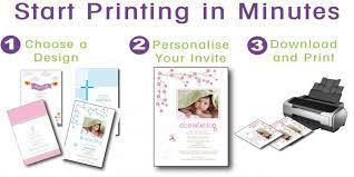 Make Own Cards Free - free printable baptism invitation cards dhavalthakur com