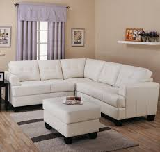 Toronto Tufted Cream Leather Corner Sectional Sofa At GoWFBca - Cream leather sofas