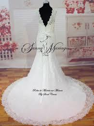 robe de mari e pr s du corps robe de mariees dentelle macramé sur mesure ou disponible en stock
