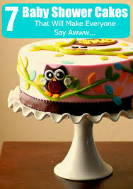7 baby shower cakes that will make everyone say awww
