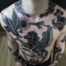 Chest Tattoos - best 25 chest tattoos ideas on chest