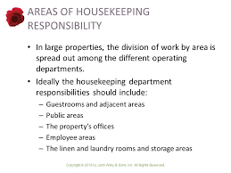 design of the housekeeping department ppt video online download