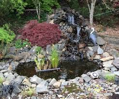 backyard waterfalls diy home outdoor decoration