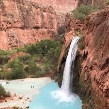 Arizona Waterfalls images Havasupai falls arizona