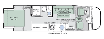 itasca rv floor plans floor plan of 27 ft lazy daze rv this is our floor plan love
