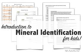 mineral identification stations u0026 flowchart half a hundred acre wood