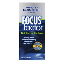focusfactor dietary supplement tablets 60 count walmart com
