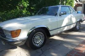 chrome benz de chrome first 1984 mercedes benz 500sl euro bring a trailer