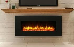 Black Electric Fireplace Black Electric Fireplace Wall Mounted Large 50 Vent On Bottom
