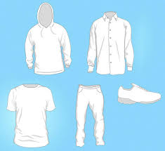 free vector clothing templates let the kids try being a fashion