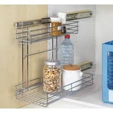 rangement cuisine coulissant le tiroir coulissant latéral pour placard achat vente tiroir