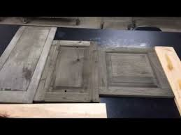 Sandblasting Kitchen Cabinet Doors Sandblasted Alder Cabinets With Reclamation Stain Youtube
