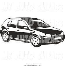 Volkswagen Golf Clipart 9