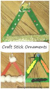 craft stick ornaments there s just one