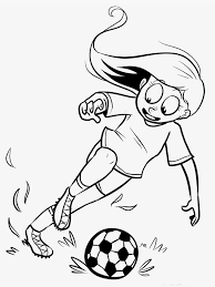 soccer coloring images reverse