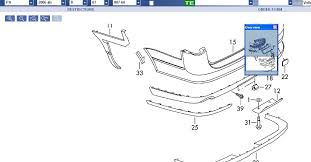 bumper and tailgate assembly diagrams 06 b6 passat estate boards ie