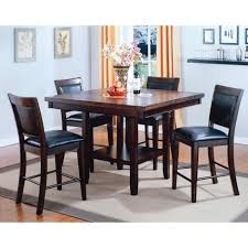 4 Piece Dining Room Set Mirada Dining Counter Height Table U0026 4 Chairs 2727 Conn U0027s
