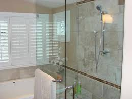 Windows In Bathroom Showers Glass Block Window In Shower Bathroom Eclectic With None Regard To