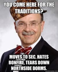 Meme Loftin - you come here for the traditions moves to sec hates bonfire tears