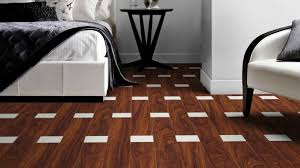 brown and white designer floor tiles for bedroom interior