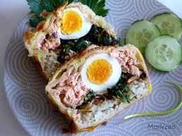 russe cuisine koulibiac revisité feuilleté russe au saumon marlyzen cuisine