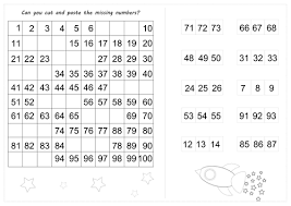 missing number worksheets by anncarcat teaching resources tes