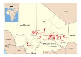 Map Of Mali Mali Refugees In A Vulnerable Situation Msf Usa