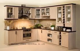 modern all wood kitchen cabinets modern solid wood kitchen cabinet lh sw008