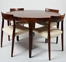 scandinavian design dining table scandinavian design dining table rosewood round oval 1964 69