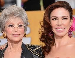 rita moreno pictures hair rita moreno and daughter fernanda luisa gordon at the golden