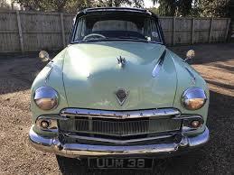 vauxhall velox 1955 vauxhall velox e type mathewsons