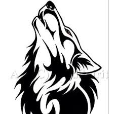 tribal wolf henna tribal wolf wolf and