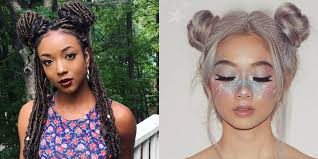 buns hair space buns are trending on