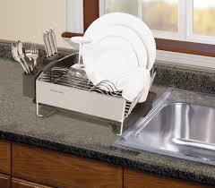 Kitchenaid Dishwasher Utensil Holder Single Tier Dish Drying Rack Stainless Steel Drainer Dish Rack