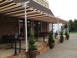 covered outdoor seating pizza in chisinau knowing moldova