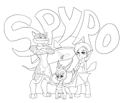 spyro 2 by zellaross on deviantart