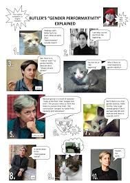 Memes Explained - judith butler explained with cats part one cats know your meme