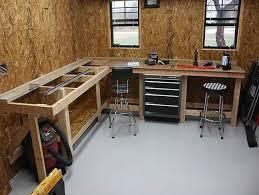 Tool Bench For Garage Best 25 Garage Workbench Plans Ideas On Pinterest Garage Bench