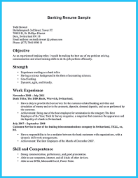 Retail Banking Resume Example Investment Banking Resume Examplel Banker Resume Sample Resumes