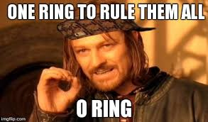 One Ring To Rule Them All Meme - one does not simply meme imgflip
