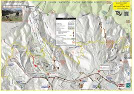Park City Utah Map by Trail System