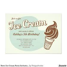 What Is Rsvp In Invitation Card Retro Ice Cream Party Invitations 5