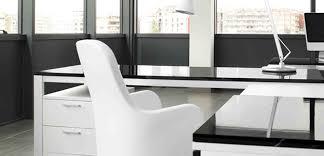 bureaux blancs artdesign bureaux design avec plateaux laqués vernis