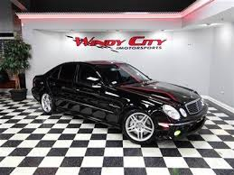 2006 mercedes e55 amg for sale sell used 2006 mercedes e55 amg 500hp navigation dynamic