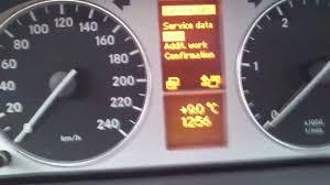 kasowanie inspekcji mercedes b klasa w245 oil service indicator