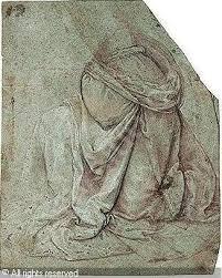 Leonardo Da Vinci Drapery Artvalue Com
