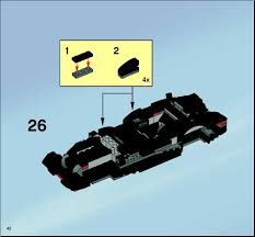 batman car lego lego two faces escape instructions 7781 batman